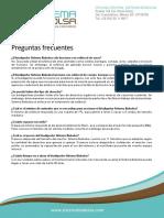 Preguntas Frecuentes Biodigestores Sistema Biobolsa 2018