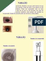 Tubulões T Admissível D Geometrico