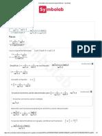 Calculadora de Ecuaciones Trigonométricas - Symbolab