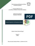 Diagnóstico bioquímica