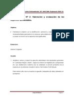 Ejercicio Aspectos Mediambientales- Caso Practico # 2