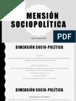 Dimensión Sociopolítica - Pastoral de Juventud de Caacupé