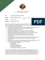 Austin Fire Chief Kerr's memo announcing retirement