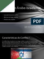 O Conflito Árabe-Israelense Laiz
