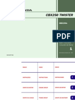CBX 250 Twister - Catalogo de Pecas