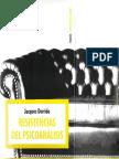 Resistencias del psicoanálisis [Jacques Derrida].pdf