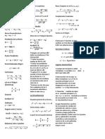 Formulario MAT 111