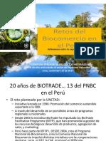 Reflexiones Sobre La Experiencia Del BioComercio - Expositor Manuel Rojas - PROAMBIENTE GIZ