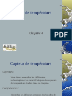 Capteur Temperature