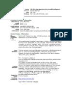 UT Dallas Syllabus for cs4365.501.10f taught by Sanda Harabagiu (sanda)