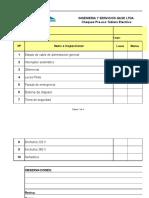 Check List Tablero Electrico ICM