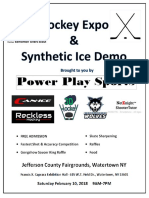 Hockey Expo & Synthetic Ice Demo Feb. 10 in Watertown