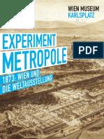 wien museum experiment metropole