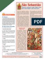 A Missa - Ano B - 12 - Solenidade de São Sebastião - 20.01.18