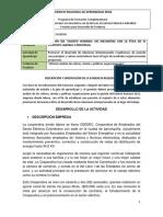 Informe Analisis de Valores Mision y Politicas Organizacionales