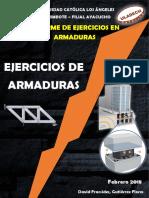 Informe de Resolucion en Ejercicios de Armaduras