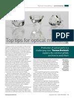 Optical moulding