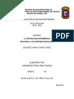 Indicadores Observ. Tic Esc. Prim. 101 - 2016-Usuario-PC