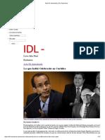Acta No Autorizada _ IDL Reporteros