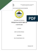 Maquinas Electricas,Julio Cesar Beltran Mendoza