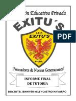 TUTORIA INFORME EXITUS