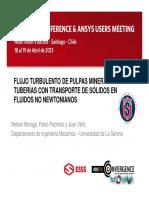 Flujo Turbulento Pulpas Mineras - Tub. Transp. Sólidos Fluidos No Newtonianos.pdf