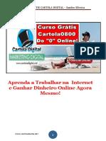eBook Cartola MD Atualizado (Aulas Novas)