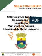 100 Questões Inéditas Comentadas AMOSTRA