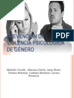Prevencion de Violencia Psicologica de Genero
