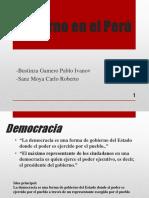 Gobierno en El Perú