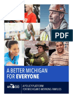 Michigan AFL-CIO Policy Platform