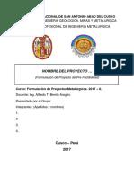 3. Formulacion Del Proyecto-ml-533. Aba.