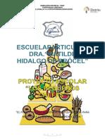 Proyecto Esc. Los Pequeños Cheffs MH