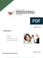 PPT Unidad 1 Organización y Estructura Del Estado - UCV
