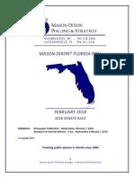 FL-Sen Mason-Dixon (Feb. 2018)