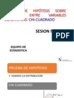 SESION N° 11 PRUEBA CHI CUADRADO- ING