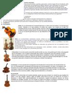 Divisiones y Subdivisiones en Los Instrumentos