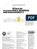 Accountancy, Business, And Management 2