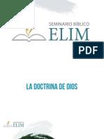 Lección 02 Teologia Propia (1)