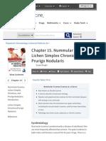 Chapter 15. Nummular Eczema, Lichen Simplex Chronicus, and Prurigo Nodularis | Fitzpatrick's Dermatology in General Me
