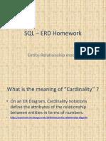SQL – ERD Homework