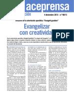 Evangelizar con creatividad