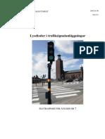 Lysdioder i Signalanlaggningar (Sthlm Stad)