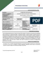 L CSyH PS PS 2014 5 CL 2016B 22537 Entervista Psicológica II