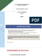 Tb Mdr en Niños - h. Del Castillo, 05-10-17
