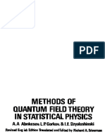 Abrikosov - Methods of Quantum Fields Theory in Statistical Physics