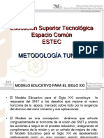 Espacio Comun de La Educación Superior