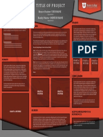 Poster Template 2015 Red