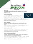 wagner college republicans constitution