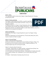 wagner college republicans constitution